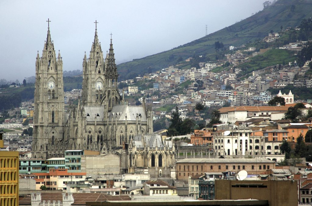 La Basilica del Voto Nacional, Quito, Ecuador